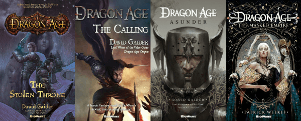 Image result for dragon age book series