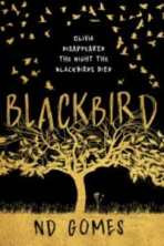 blackbird n d gomes cover art bookshelves
