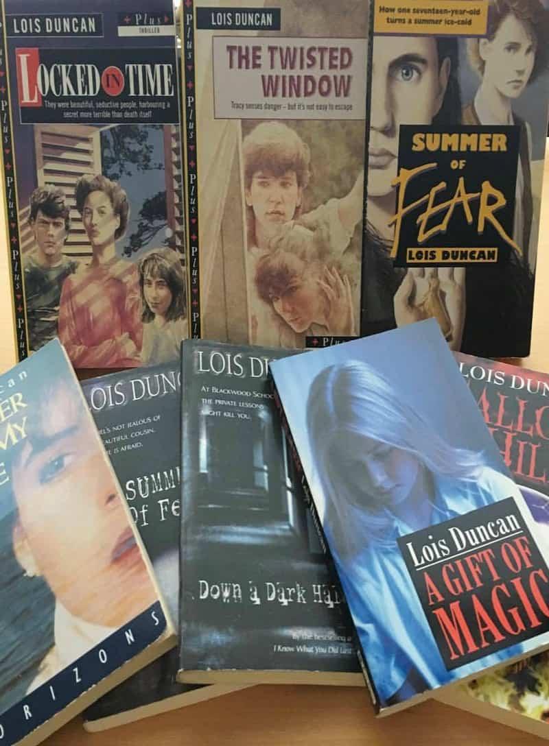 lois duncan teen thriller writer books