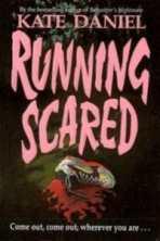 running scared kate daniel cover art bookshelves