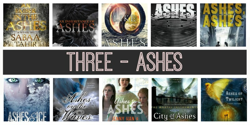 commonly used ashes
