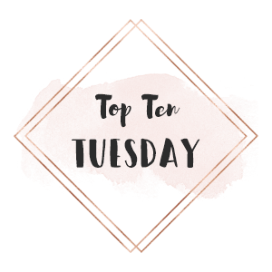 top ten tuesday characters