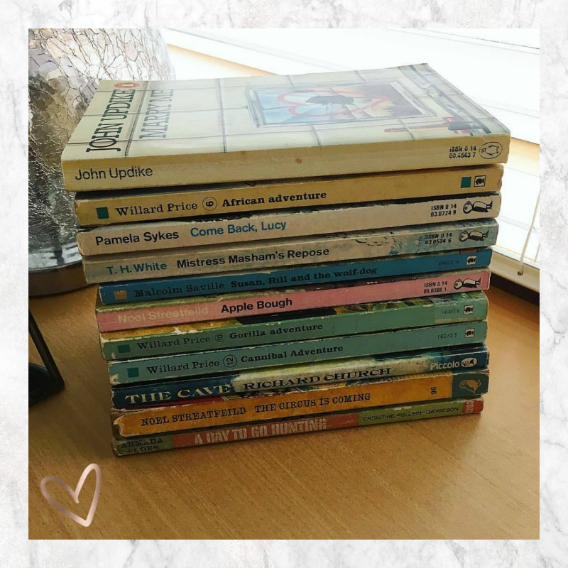 vintage paperbacks (and a couple new books too!)