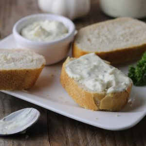 Bread and aioli from Brio Tapas Bar & Restaurant Clapham. Available through click and collect only.