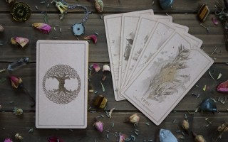 The Runic Odyssey Oracle Deck by Eva Lee D.