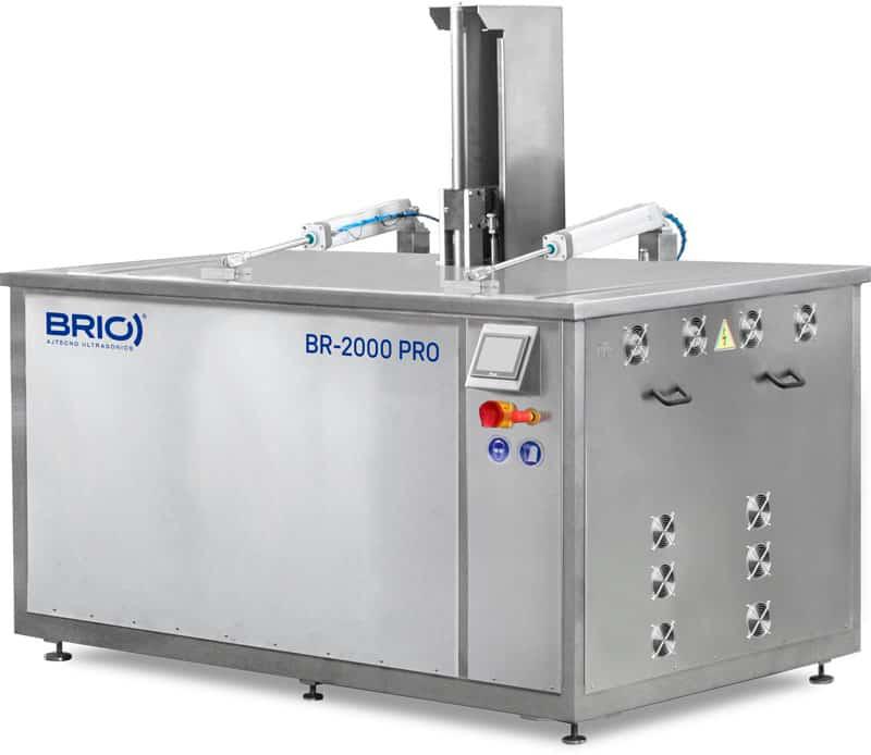 Maquina de limpieza ultrasonidos de serie automática