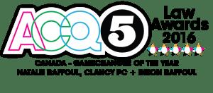 ACQ5 2016 Game Changer Award