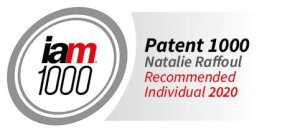 iam1000 Patent 1000 Natalie Raffoul Recommended Individual 2020