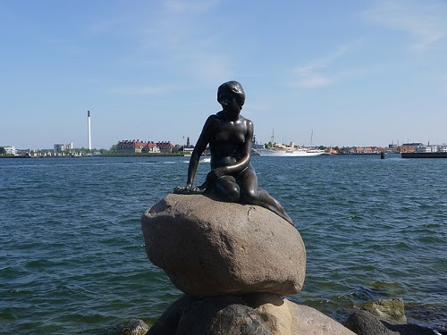 Die berühmte Meerjungfrau