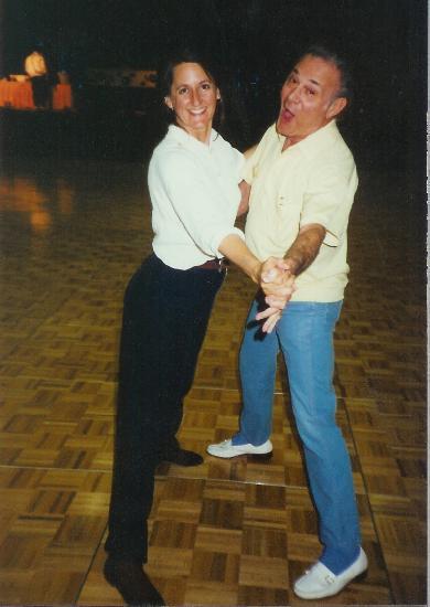 Maxie with Silvia Sykes 1992