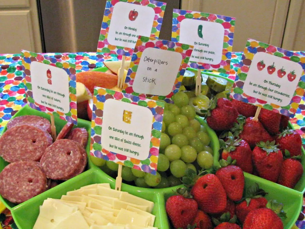 11 Very Hungry Caterpillar Party Ideas