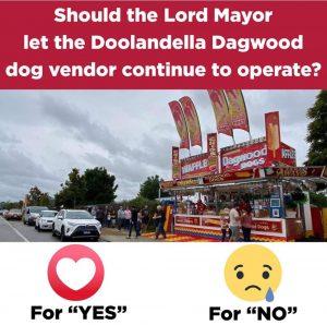 Dagwood Dog Facebook Poll