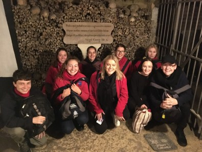 A surreal, interested and somewhat eerie place Exploring the quarries of the Catacombs (By Kate)