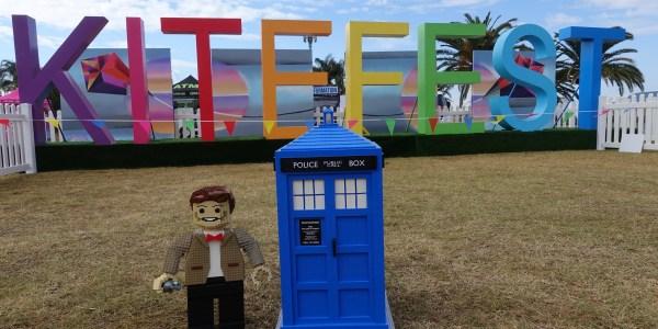 """LEGO"" fly a kite!"