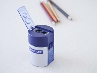 Steadtler dobbelt blyantspidser med spidser