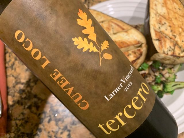 tercero wines cuvee loco red blend