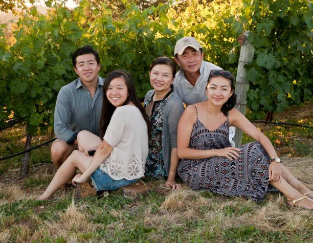 The Ming family owns the 4800 Cavedale Road property where Korbin Ming, far left, hopes to start a 19,000-square-foot cannabis cultivation operation with his siblings. (Korbinkameron.com)