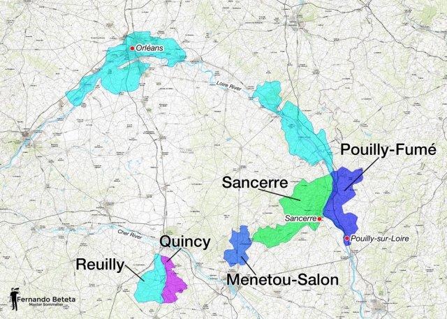 Central Vineyards, Loire Valley; Fernando Beteta