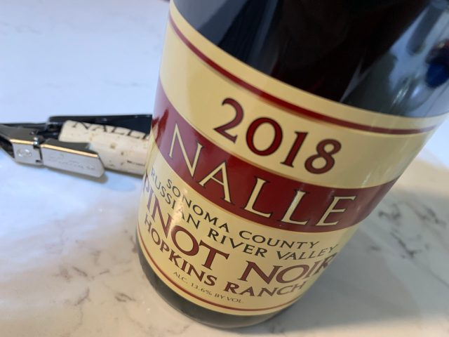 Nalle Winery 2018 Hopkins Ranch Pinot Noir