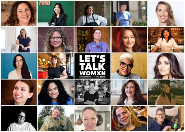 "Nearly 100 women restaurateurs across nine of its cities invite all to join them for ""Dine Together & Let's Talk"" on March 8, 2021."