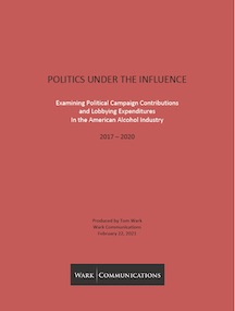 This new report is based on information available in public databases that track campaign contributions at the state and federal level as well as spending on lobbying, again both state and federal.
