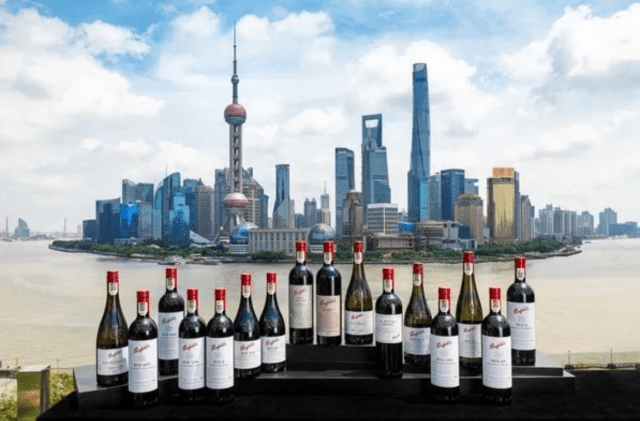 Penfolds collection in Shanghai (pic: Penfolds)