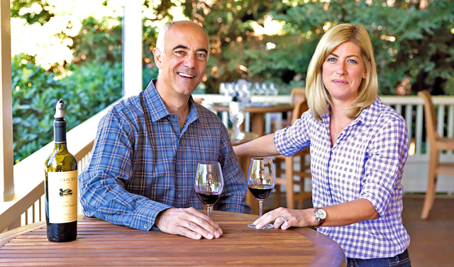 Duckhorn CEO Alex Ryan and winemaker Renée Ary are part of a team that has been at the winery for awhile, despite two ownership changes. (Nat & Cody)