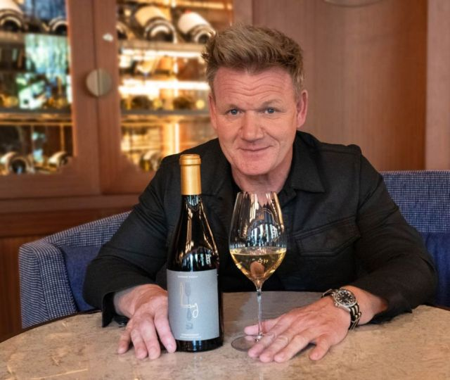Gordon Ramsay is stepping into the wine industry with his own brand of California wines, with bottles to be sold in his restaurants and online.
