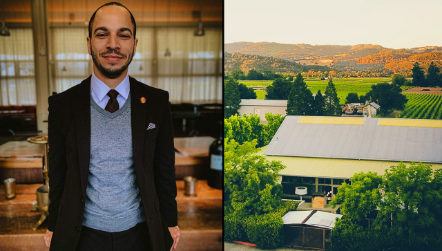 Wine director Vincent Morrow of Napa's Press says opening up the path toward wine certification will lead to a more diverse industry of wine professionals. (Courtesy of Press Restaurant)