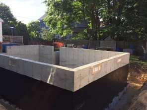 Addition excavation project.