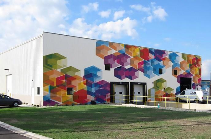 Gems - Mural