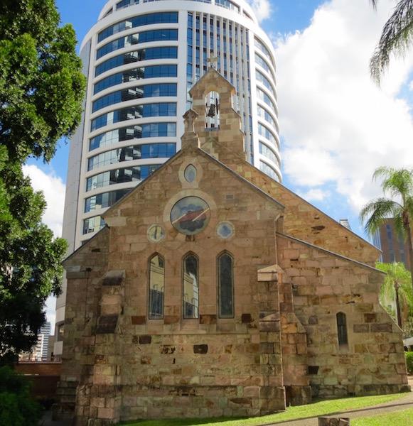 all saints Brisbane CBD