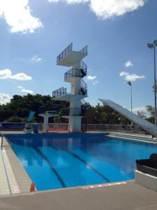 Centenary pools on Brismania