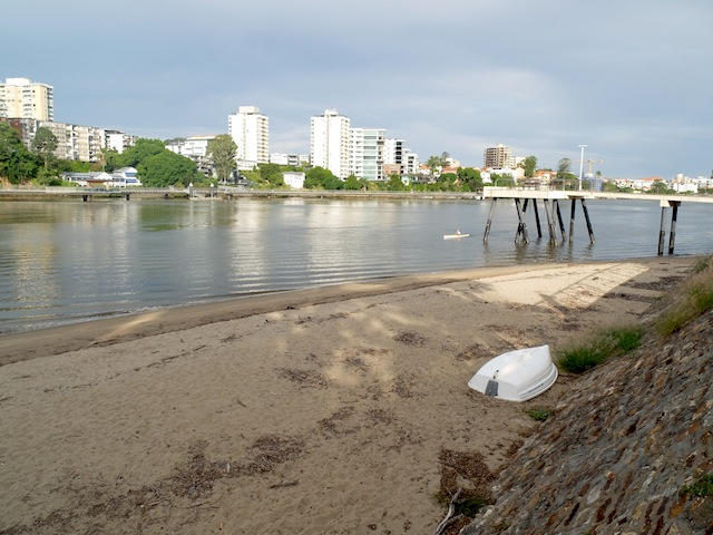 city beach Kangaroo Point