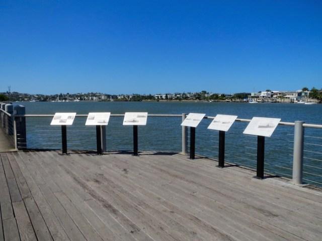 submariners walk Brisbane River