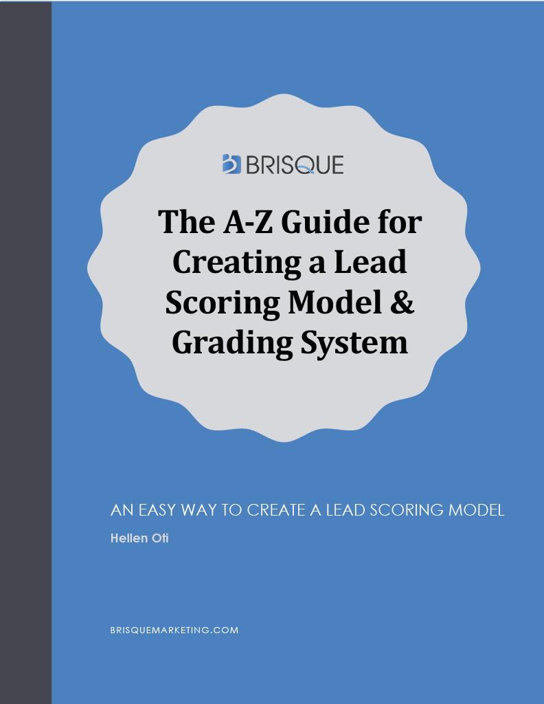lead scoring guide pdf