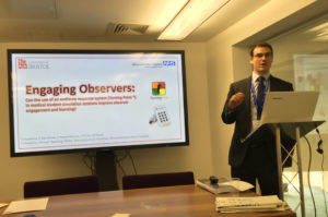 The use of e-voting in simulation training at Gloucestershire Academy