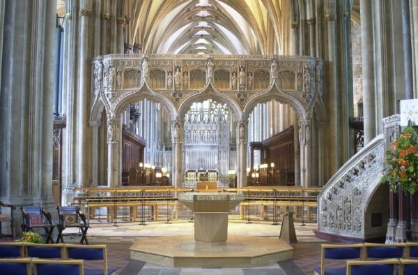 Nave Altar Bristol Cathedral