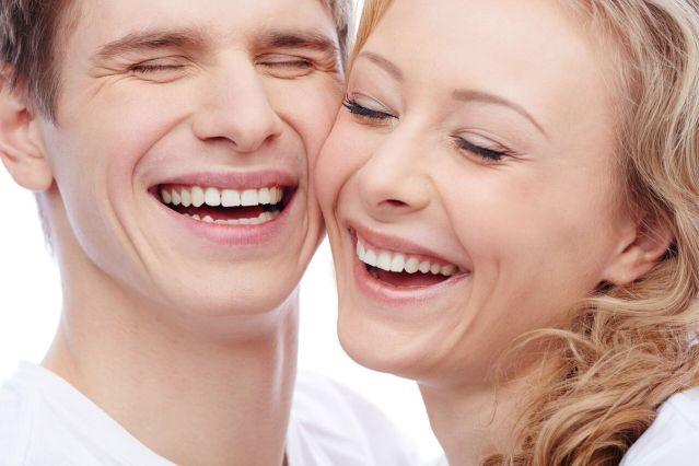 Couple smiling - Mississauga Dentist - Bristol Dental