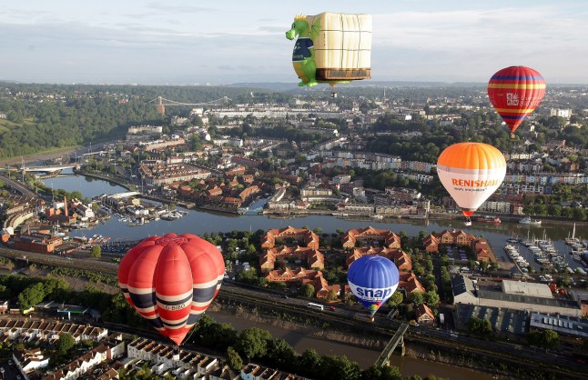 12 Paul Townsend - Bristol International Balloon Fiesta, 2014