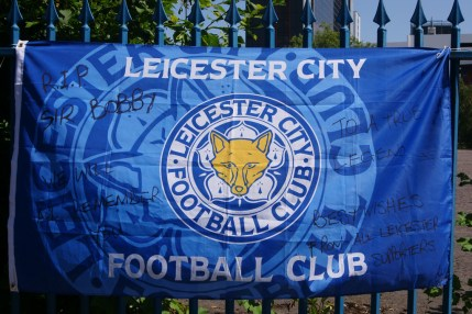 fourthandfifteen - Leicester City flag