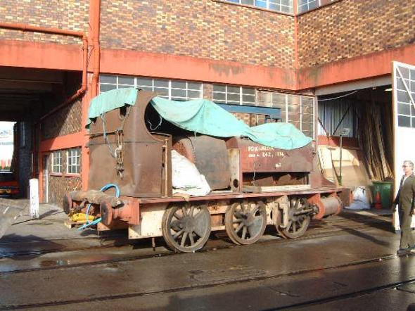 Outside L Shed, circa 2006 (R. Skuse)
