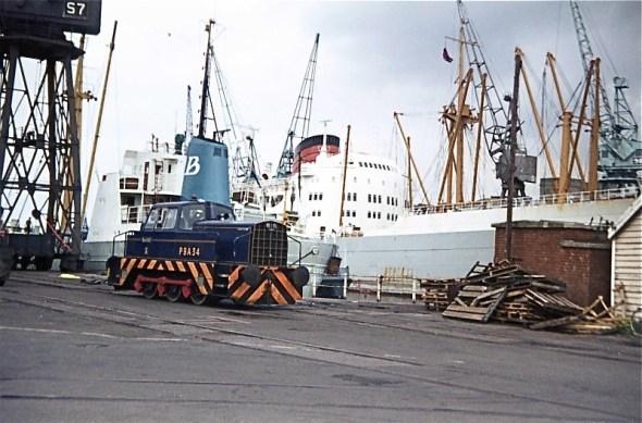PBA 34 on the dockside,1973 (John Stanford)
