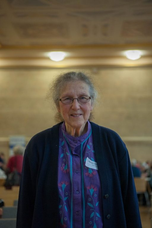 Dr. Marian Liebmann OBE, Chair of Bristol Holocaust Memorial Day Steering Group