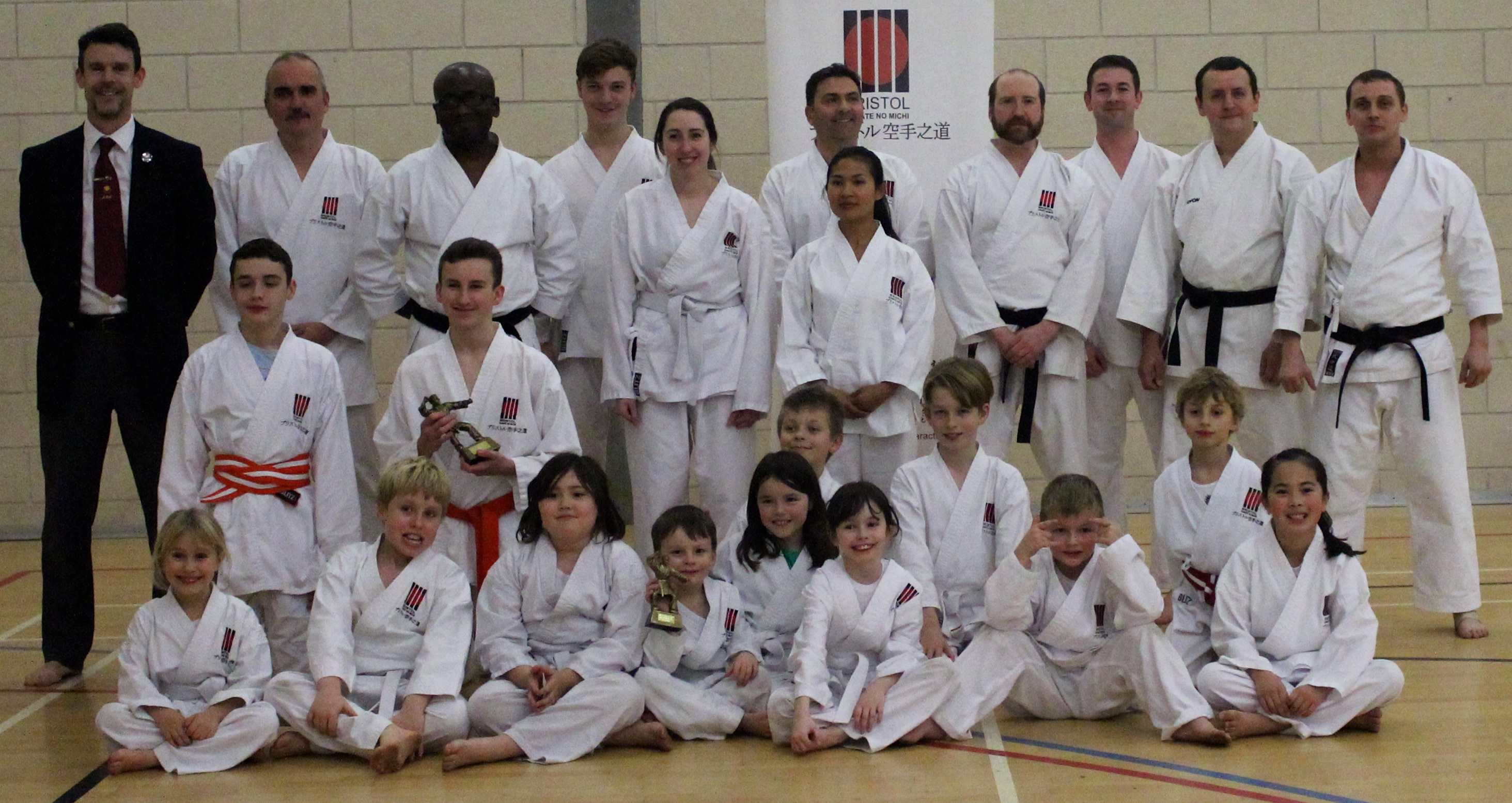 Bristol Club Grading & Students of 2017!