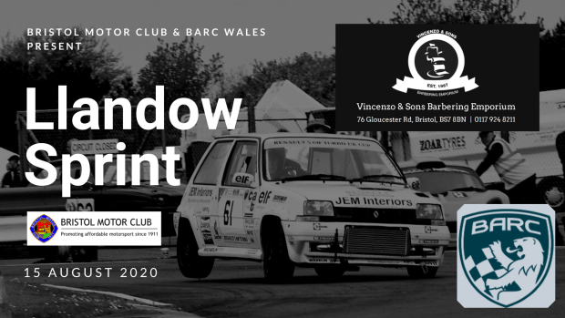 August Llandow Sprint