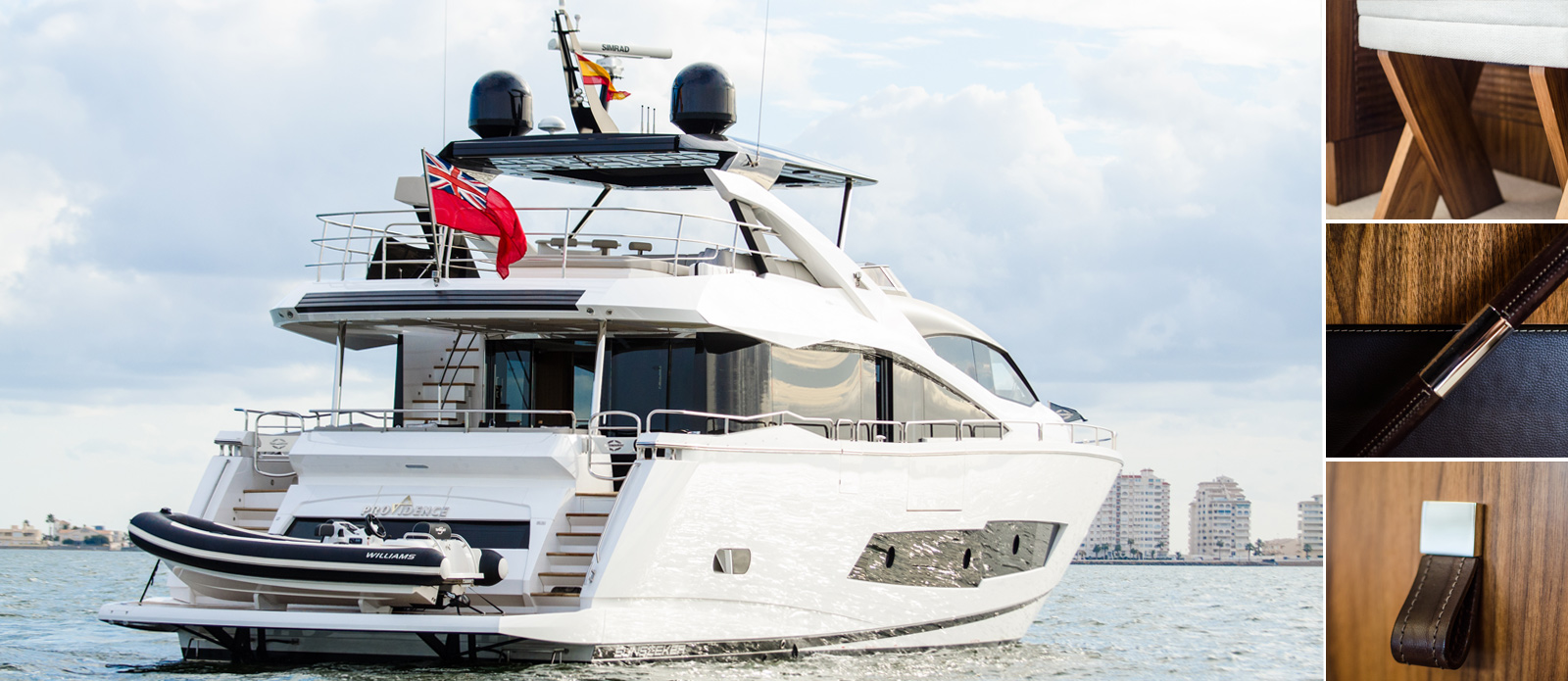 Sunseeker 86 Yacht - Exterior-Collage-2