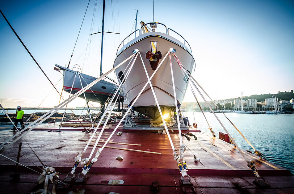 Silver Lining Safely Loaded for her Trans-Atlantic Journey