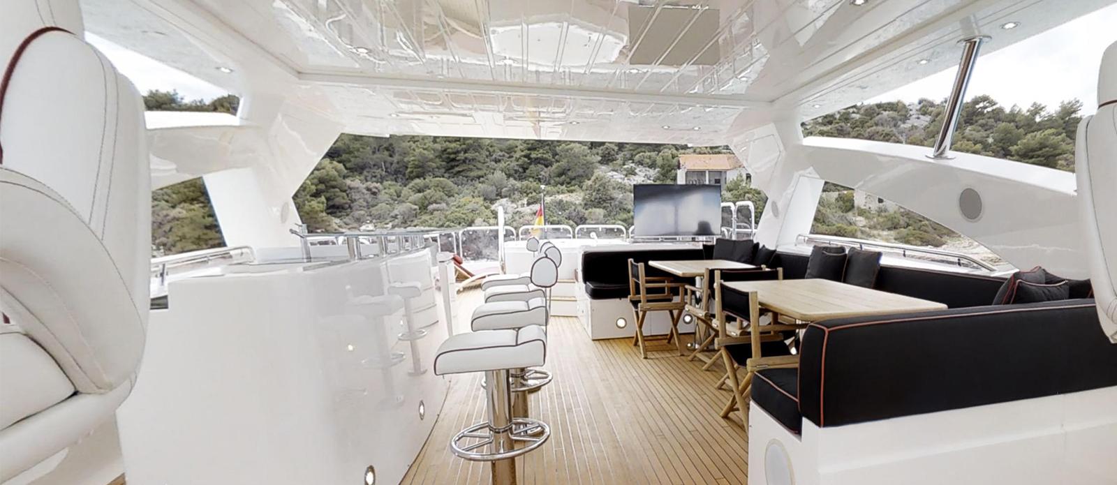 Sunseeker 34m Yacht Flybridge
