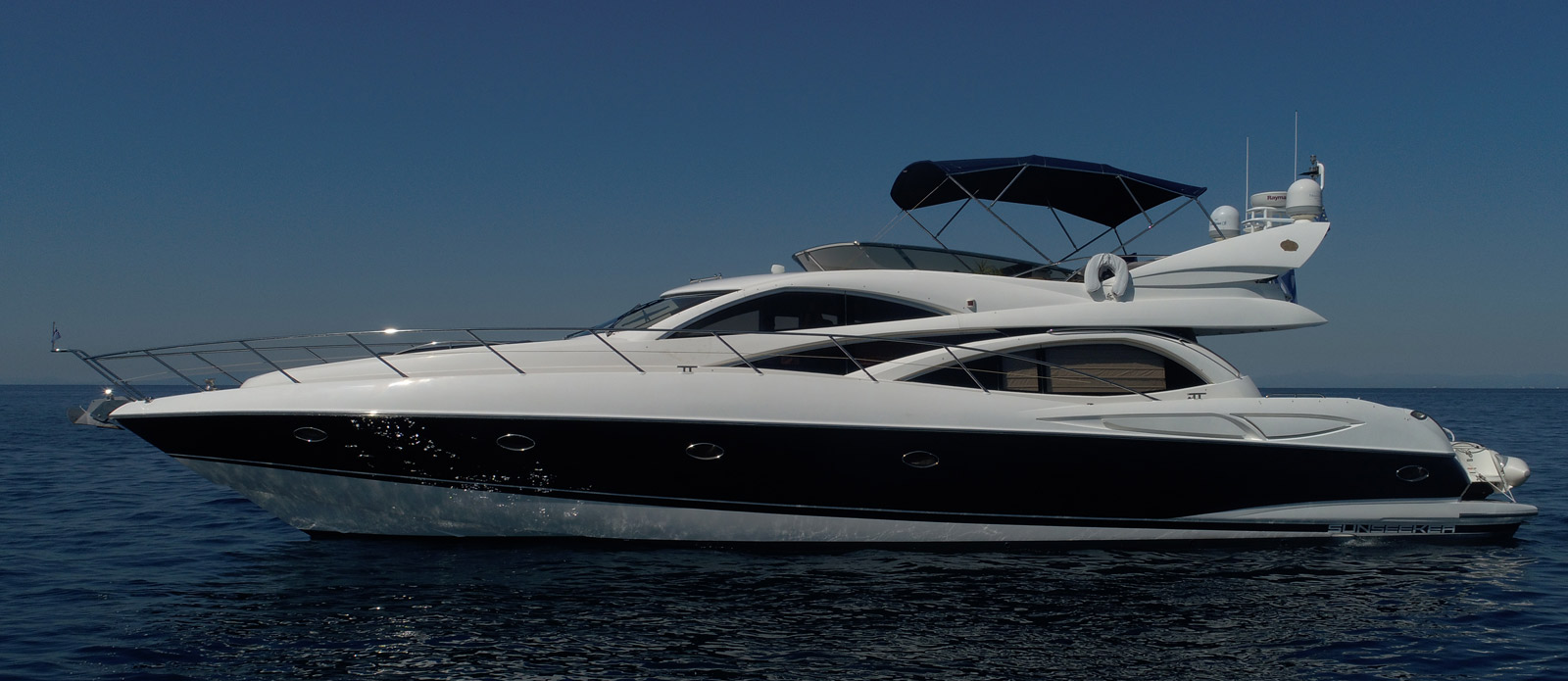 Sunseeker Manhattan 64 Carenia For Sale with Bristow-Holmes Side Profile View